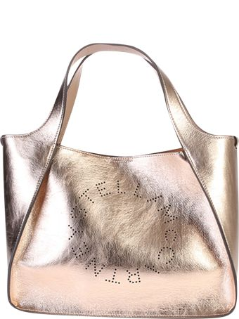 Stella McCartney Metallic Faux Leather Bag