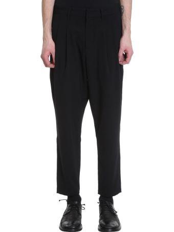 Attachment Black Wool Pants
