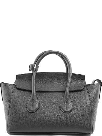 Bally Sommet Small Pebbled-leather Handbag