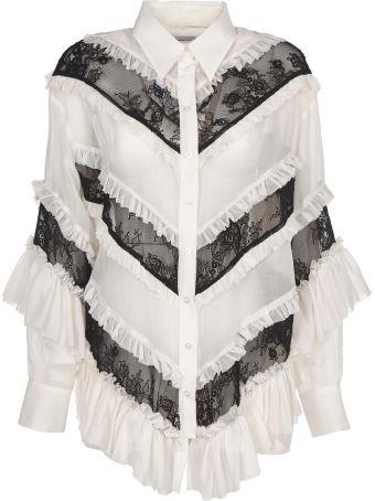 Brognano Ruffled Shirt