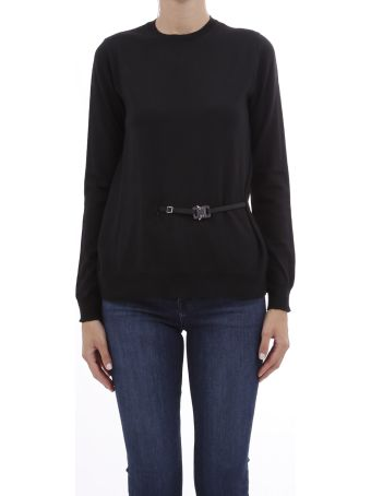Alyx Black Ssweater With Buckle