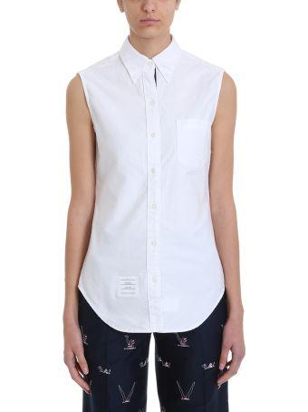 Thom Browne Sleeveless Button Shirt