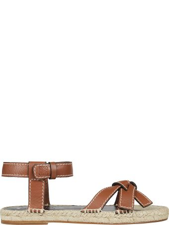 Loewe Gate Knotted Sandals