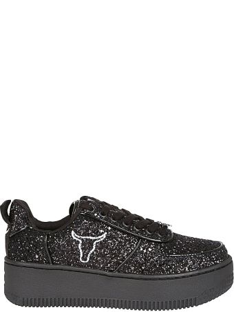 Windsor Smith Glittered Sneakers