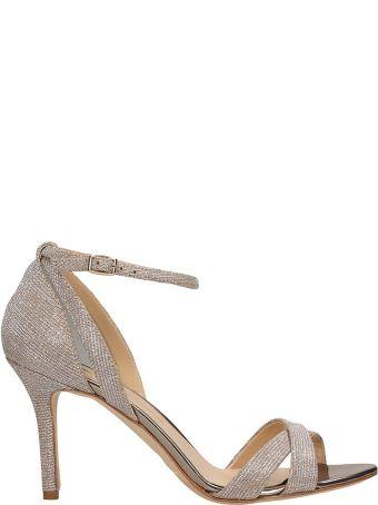 The Seller Gold Glitter Sandals