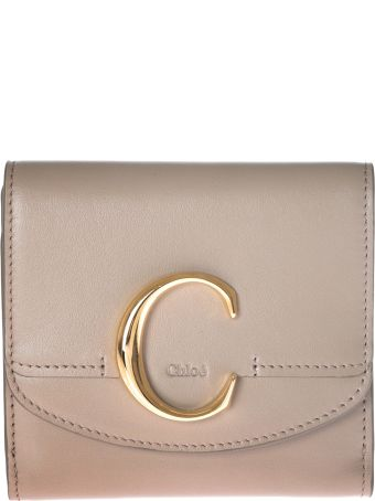 Chloé Metallic C Wallet
