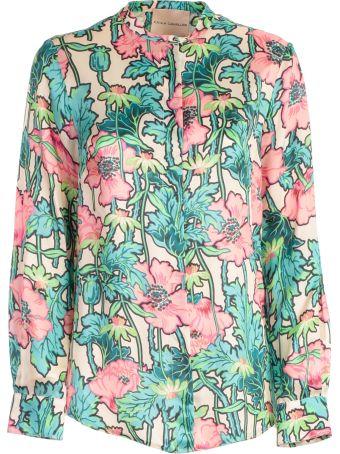 SEMICOUTURE Erika Cavallini Floral Printed Shirt