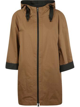 Brunello Cucinelli Oversized Hooded Jacket