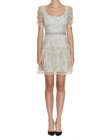 self-portrait Embroidered Dress