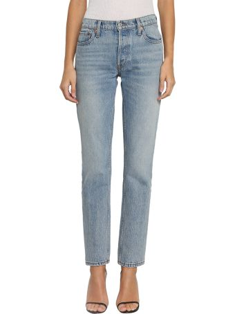 RE/DONE The Crawford Denim Cotton Jeans