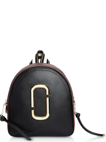 Marc Jacobs Color-block Leather Pack Shot Backpack
