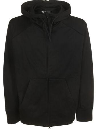 Y-3 Adidas Y-3 Oversized Logo Hooded Jacket