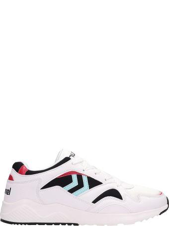 Hummel Edmonton White Leather Sneakers