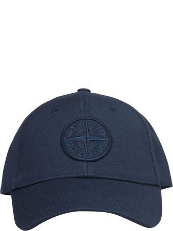 Stone Island Embroidered Baseball Cap