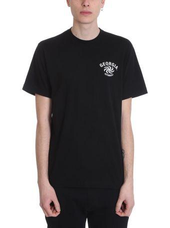 VETEMENTS Black Cotton T-shirt