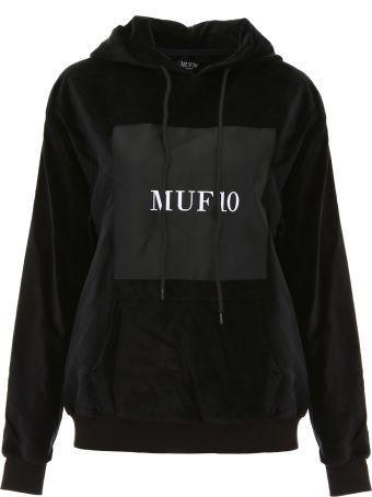 MUF10 Printed Velvet Hoodie