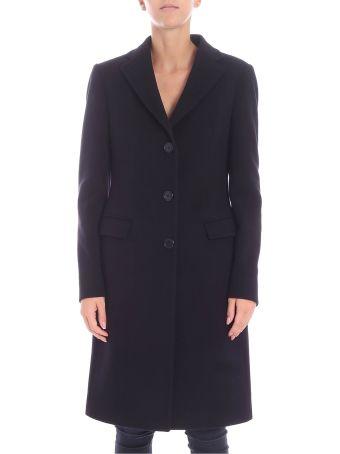 Tagliatore Single Breasted Long Coat