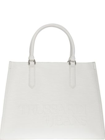 Trussardi Jeans Large Shopping Bag