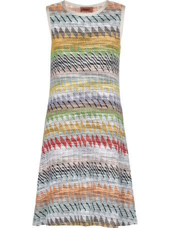 Missoni Multicolor Knitted Dress