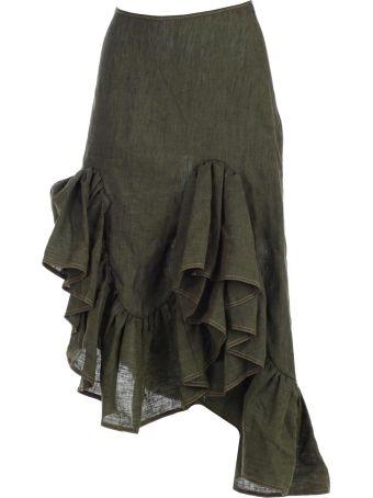 Marques'Almeida Skirt W/flounce