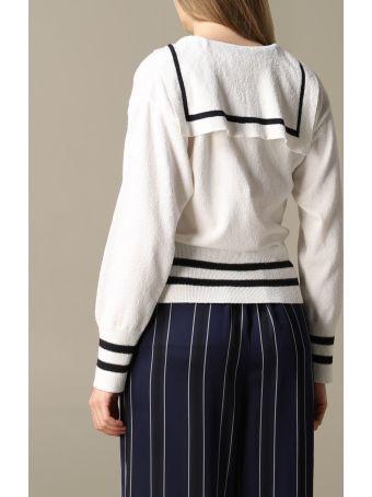 Hilfiger Denim Hilfiger Collection Cardigan Hilfiger Collection Cardigan With Sailor-style Cape