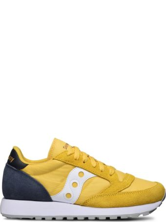 Saucony Saucony Originals Jazz O' Yellow/navy Blue