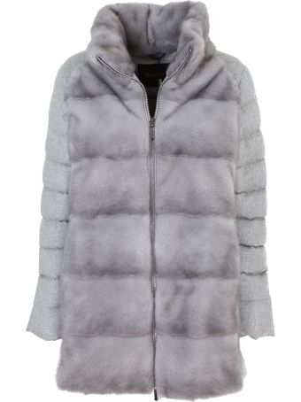 Moorer pure cashmere wool coat mixed