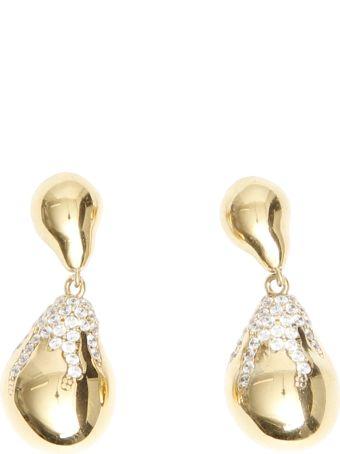 Bottega Veneta Pave Earrings