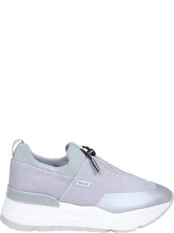Ruco Line Rucoline Essentiel Sneakers In Gray And Leather Gray Leather