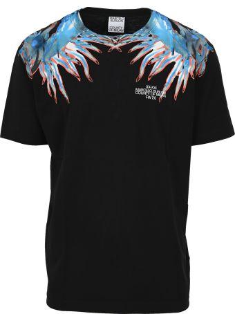 Marcelo Burlon Sea Snail Wings Print T-shirt