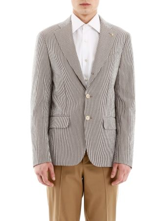 CC Collection Corneliani Striped Jacket