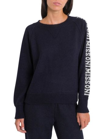 Missoni Mohair Pull With Logo Band