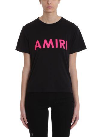 AMIRI Amiri Black Cotton T-shirt
