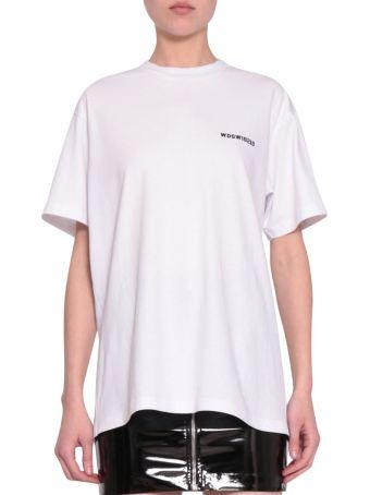 WANDERING Logo Cotton T-shirt