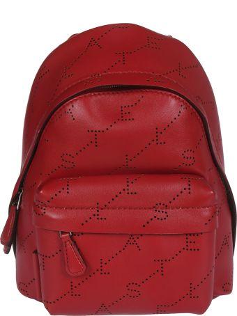 Stella McCartney Perforated Logo Mini Backpack