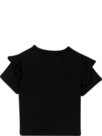 Balmain Black Teen T-shirt