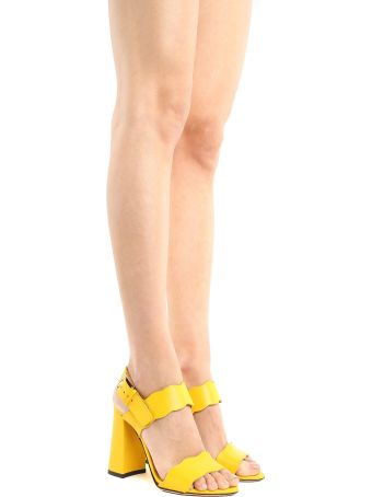 Marskinryyppy Leda Leather Sandals