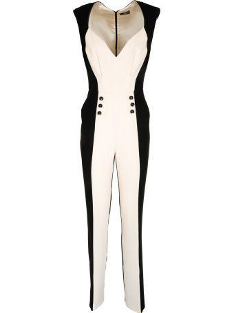 Elisabetta Franchi Celyn B. Colour Blocked Jumpsuit