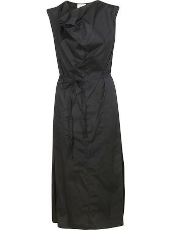 Lemaire Draped Neck Maxi Dress