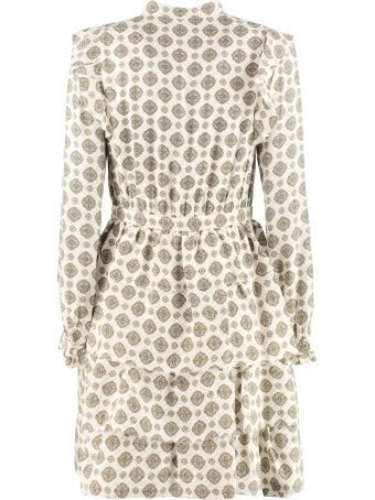 MICHAEL Michael Kors Printed Shirtdress