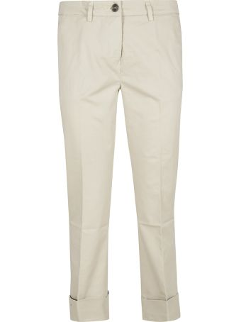 Fay Folded Cuff Trousers