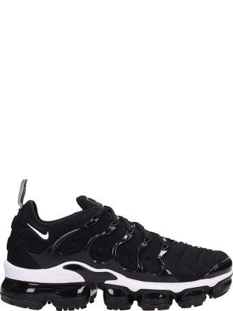 Nike Air Vapormax Black Fabric Sneakers