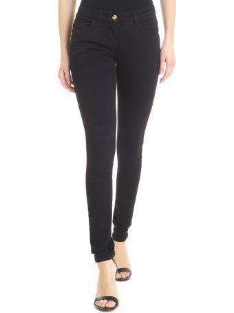 Patrizia Pepe Black Skinny Jeans