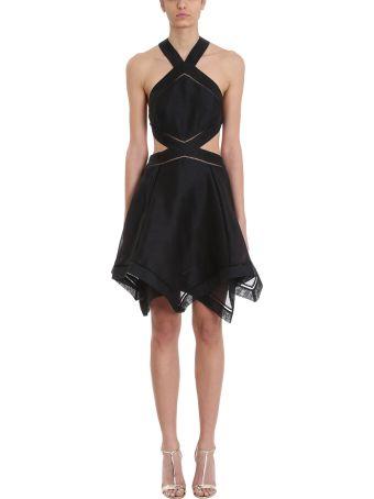 Zimmermann Corsage Halter Mini Dress