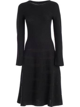 Emporio Armani Flared Midi Dress