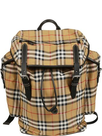 Burberry Checked Travel Backpack