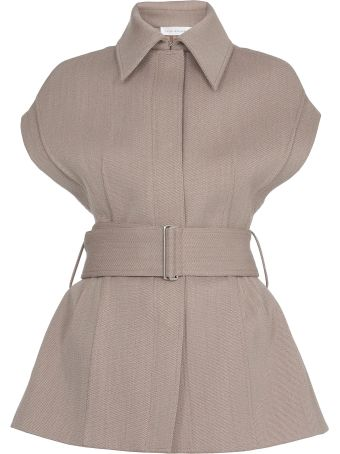 Victoria Beckham Wool And Cotton Waistcoat