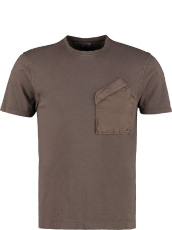 C.P. Company Cotton T-shirt With Chest Pocket