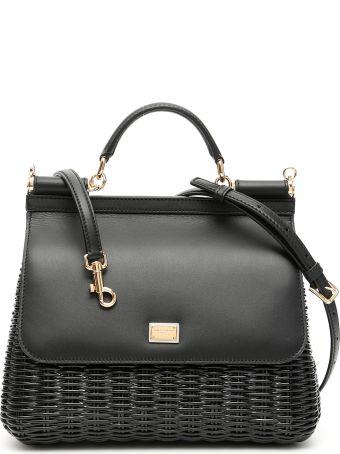 Dolce & Gabbana Wicker Sicily Bag