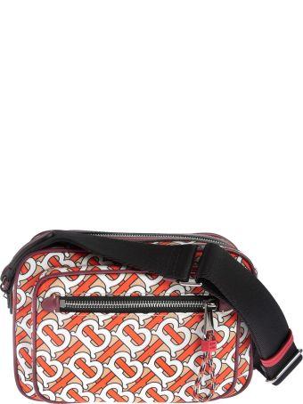 Burberry B All-over Logo Print Shoulder Bag